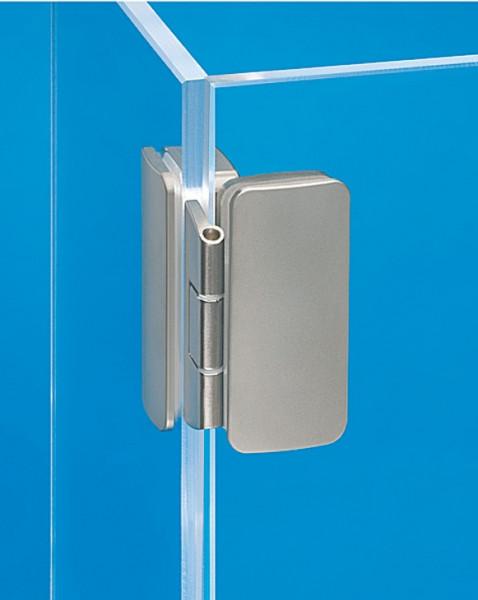 Häfele Glastürscharnier H1422 für Ganzglaskonstruktionen aufliegend