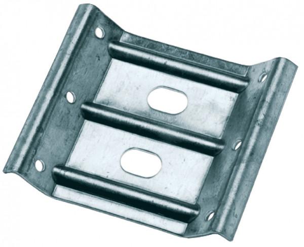 Zargen Tischbeinbeschlag aus Stahl