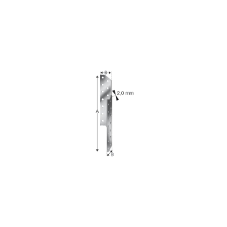 SIMPSON Sparrenpfettenanker SPF 330 rechts feuerverzinkt mit Zulassung 2 Stk