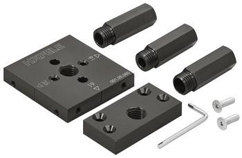 Loox Bohrlehre für Schalter und Kabelkanäle Häfele Bohrhilfe