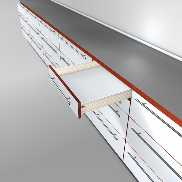 BLUM Metabox M Zarge 320 Schraubversion Teilauszug Zargenhöhe 86 mm