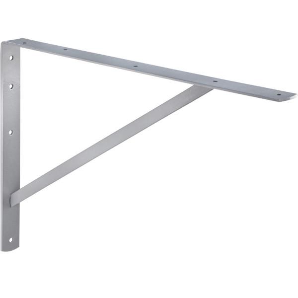 Schwerlast-Konsole ATHENA aus Stahl silber RAL 9006