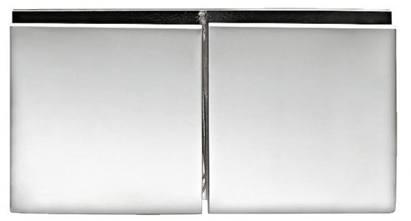 Aquasys Glashalter 180° Messing chrom poliert für Glasdicke 8-12mm