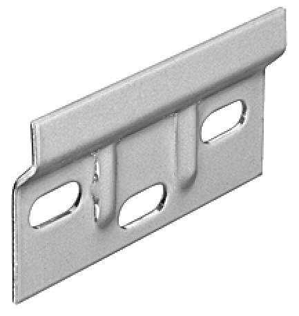 Häfele Trägerplatte für Schrankaufhänger zum Schrauben für Oberschrank
