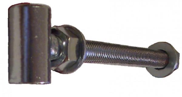 Pfostenband Flügelteil mit Bohrung Edelstahl V2A rostfrei