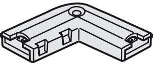 Häfele Eckverbinder 24 V multi-weiß für 10 mm Loox LED-Silikonband