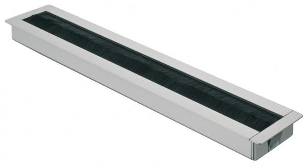 Häfele Kabeldurchlass quadratisch 56,5 x 300 mm Modell H9003 Zinkdruckguss