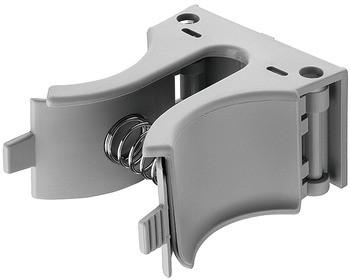 Häfele Stiefelhalter zum Schrauben aluminiumfarben