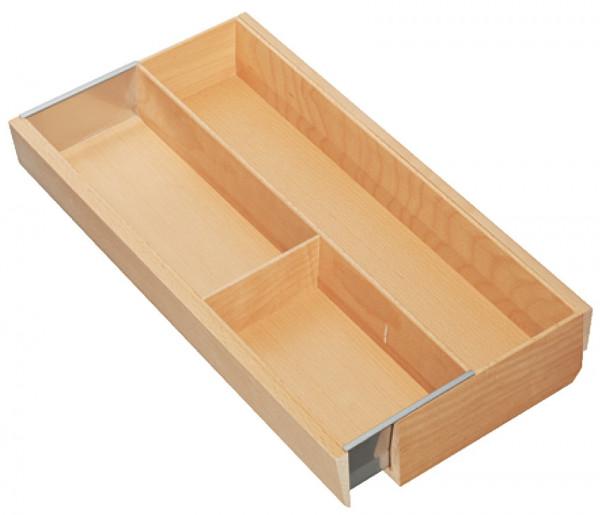 Häfele Besteckeinsatz H4112 Matrix Box P Holz Ausgleichsschale schmal breitenverstellbar
