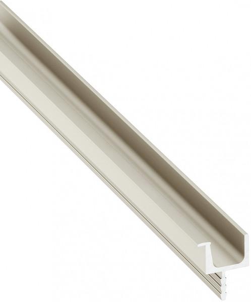 Häfele Griff-Profilleiste H1829 für optisch grifflose Fronten 2500 mm Aluminium