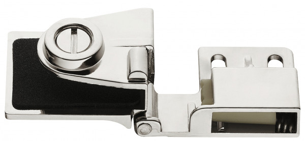 Häfele Glastürscharnier H1417 für Türmontage ohne Glasbohrung Mittelscharnier