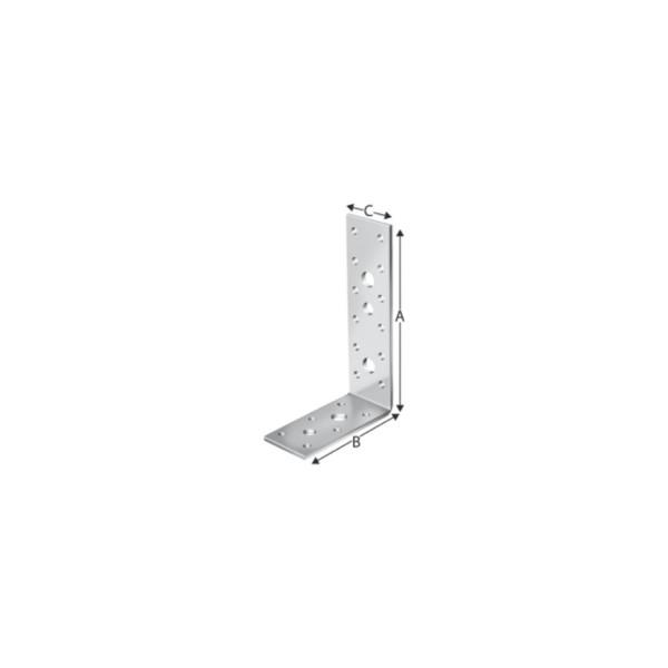 Simpson Winkelverbinder AG 40312 / AG 40314B / AG 40412 / AG 40414 feuerverzinkt mit Zulassung