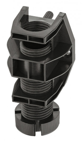 Häfele Sockelhöhenversteller H3954 zum Einpressen Kunststoff schwarz