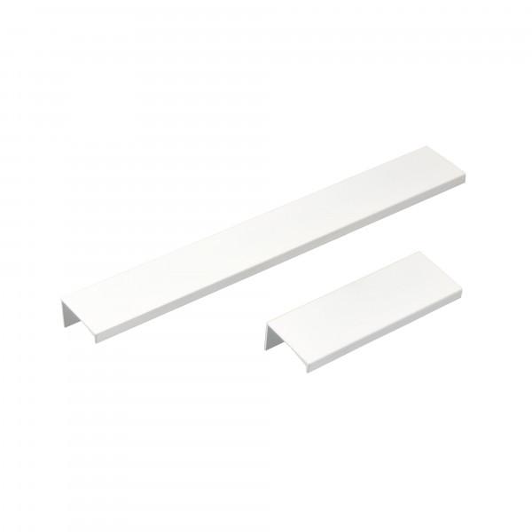 Möbelgriff RAFFAEL aus Aluminium weiß matt