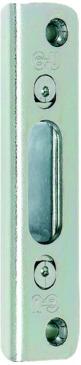 Häfele Winkelschließplatte, für Automatic-Falle oder Massivriegel, verdeckt liegend