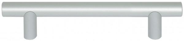 Häfele Möbelgriff H1039 Sockelgriff Ø12 mm Aluminium rund silberfarben eloxiert mit 2 Sockeln