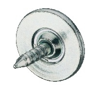 Häfele Gegenplatte H6032 für Magnet-Druckverschluss / Druckschnäpper zum Einschlagen