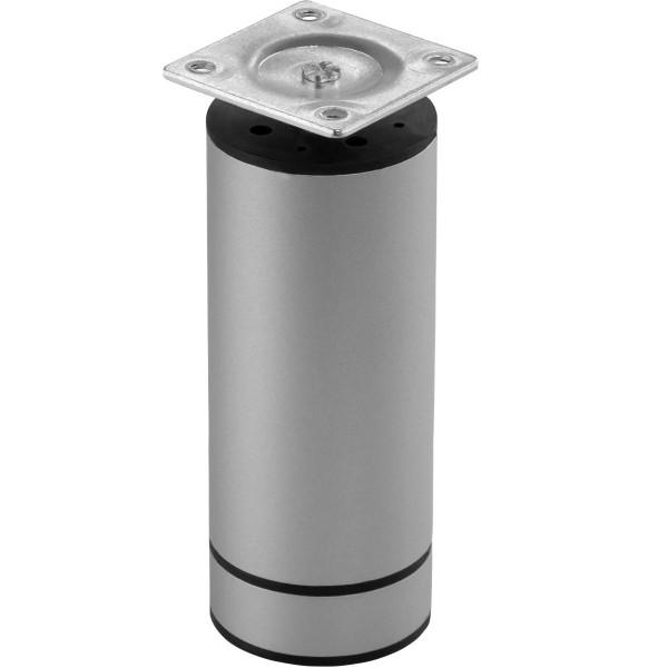 Möbelfuß JACO aus Aluminium rund