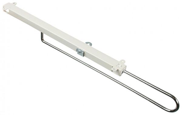 Kleiderbügelhalter H5102 zum Schrauben unter den Fach-oder Oberboden Länge 300-450 mm