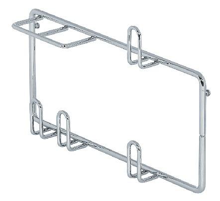 Kesseböhmer Rohr- und Düsenhalter Stahl Gerätehalter-System für Einhängeschiene