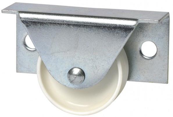 Häfele Bettkastenrolle H4801 starr zum Schrauben seitlich Ø 35 mm