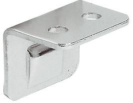 Häfele Schließwinkel H6066 für Möbelriegel mit Wulst