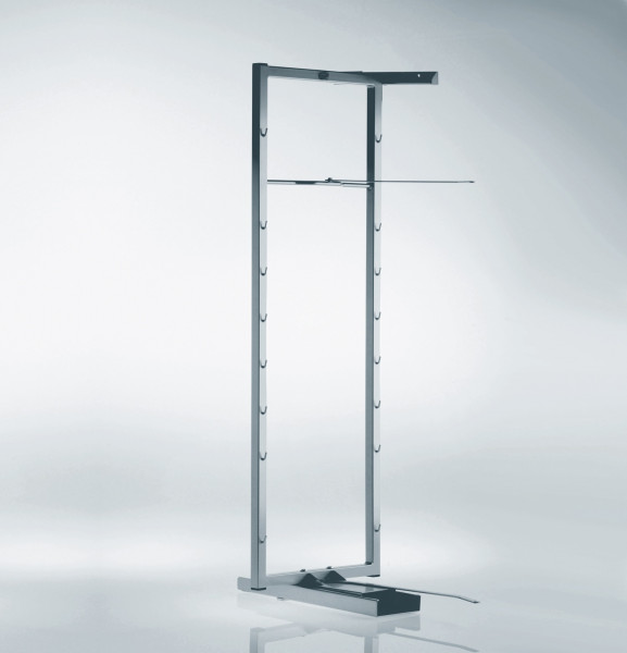 Kesseböhmer Auszugsrahmen Tandem-Schwenkauszug Stahl silberfarbig