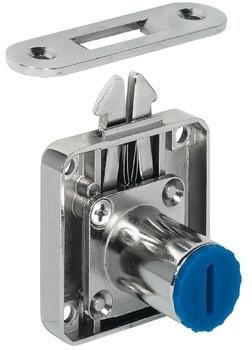 Häfele Aufschraub-Rollladenschloss H6162 Symo Dornmaß 24,5 mm