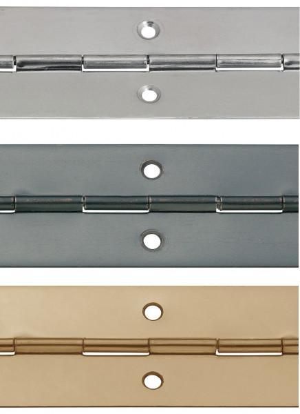 Häfele Stangenscharnier H1901 zum Schrauben aus Stahl 3500 mm