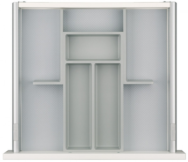 Häfele Einteilungssystem H4133 Set 3 universelles Inneneinteilungssystem für Nennlänge 500 mm
