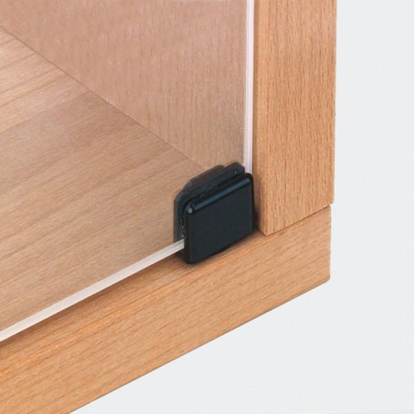 Häfele Glastürscharnier H1410 für Türmontage ohne Glasbohrung Länge 20 mm