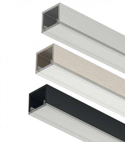 LOOX5 LED-Unterbauprofil 2101 aus Aluminium Innenbreite 11 mm