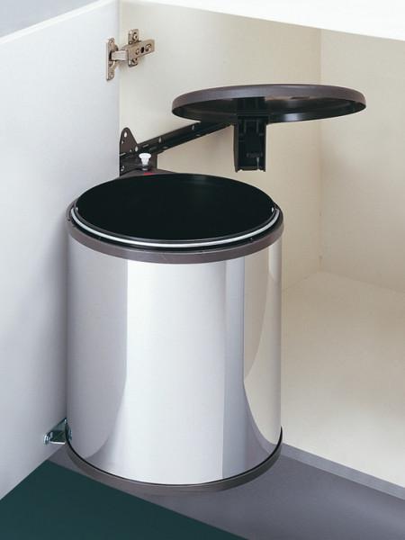 Hailo Einfach-Abfallsammler Big Box 15/20 Liter Einbaueimer rund