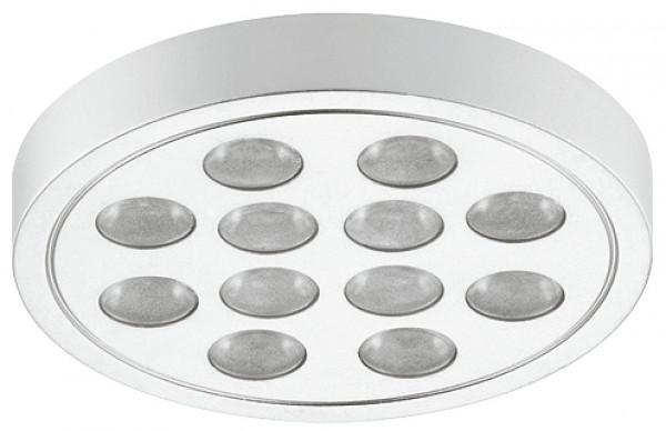 Häfele Unterbauleuchte 24 V rund LED 3005 Loox Leuchte selbstklebend
