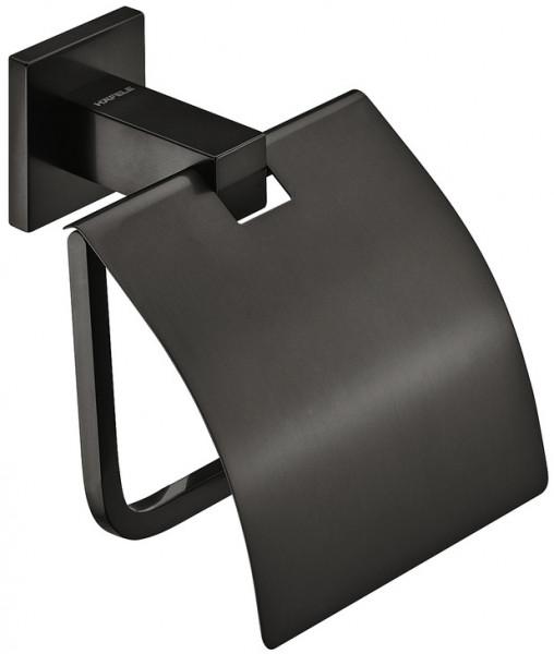 Häfele Toilettenpapierhalter mit Deckel H4050 graphit-schwarz