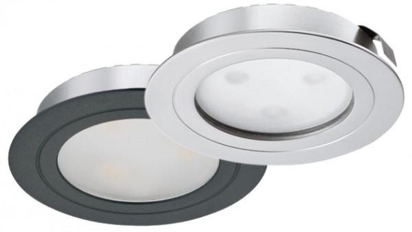 Häfele Einbauleuchte 350 mA rund LED 4009 Loox Spot Aluminium
