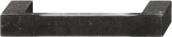 Häfele Möbelgriff H1034 Bügelgriff used look - schwarz Bohrabstand 128 mm