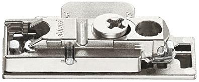 Blum Clip 1 Paar Adapterplatte für Teleskophebel Alurahmen schmal 175H5B00