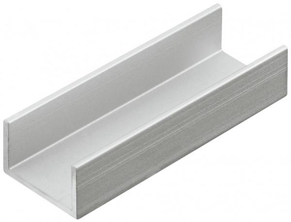 Häfele Aluminium-Clip H4144 aus Aluminium für Schubkasteneinteilung universell flexibel