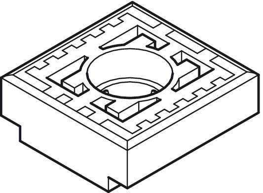 Geze Gleitstein TS 3000/5000 für Gleitschiene Ersatz-Gleiter