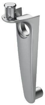 Häfele Bodenträger HC für Holz Ø 5 mm zum Einstecken und Schrauben in Bohrloch