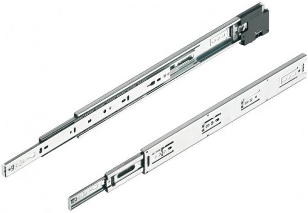 Häfele Kugelführung Vollauszug Accuride mit elektronischem Schließsystem EFL 80 bis 45 kg Stahl seit