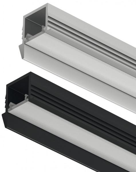 LOOX5 LED-Einbauprofil 1105 aus Aluminium Innenbreite 11 mm