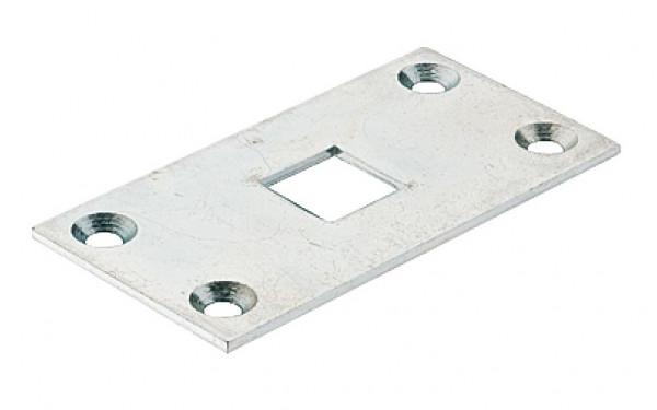 Häfele Schließblech für Tor-Treibriegel 13 oder 16 mm Torverriegelung