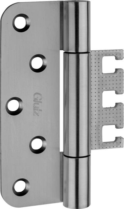 Häfele Glutz TX 16 147 AS Schwerlast Größe 160 mm - Türband für Aufnahmeelement VX