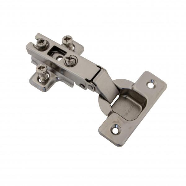 Möbelscharnier Topfband 110° Eckanschlag Metalla mit Schließautomatik