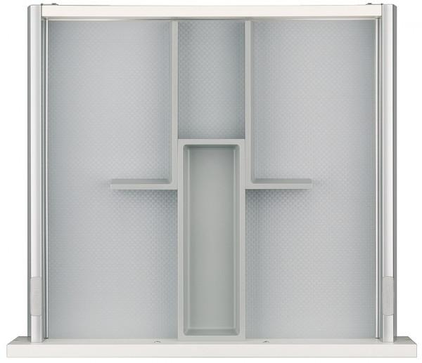 Häfele Einteilungssystem H4134 Set 4 universelles Inneneinteilungssystem für Nennlänge 500 mm