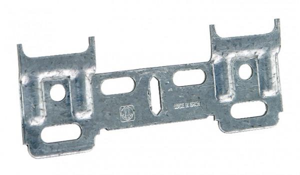 Häfele Trägerplatte für Schrankaufhänger 106 mm