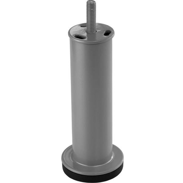 Möbelfuß ADRIA aus Metall 130 mm mit M8-Gewindestift