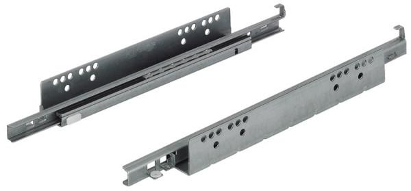 Häfele Unterflurführung Teilauszug TAF25 Tragkraft bis 25 kg Stahl Steckzapfenmontage mit Einzugsdäm